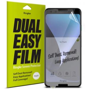Folia Ringke Dual Easy Full Cover Google Pixel 3 Case Friendly