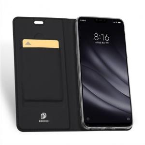 DuxDucis SkinPro Xiaomi Mi8 Lite Black + Tempered Glass