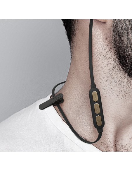 Bezprzewodowe słuchawki Ghostek Rush Bluetooth Gold