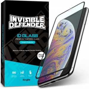 Szkło hartowane Ringke ID Glass Full Cover 3D iPhone XS Max