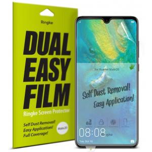 Folia Ringke Dual Easy Full Cover Huawei Mate 20 Case Friendly