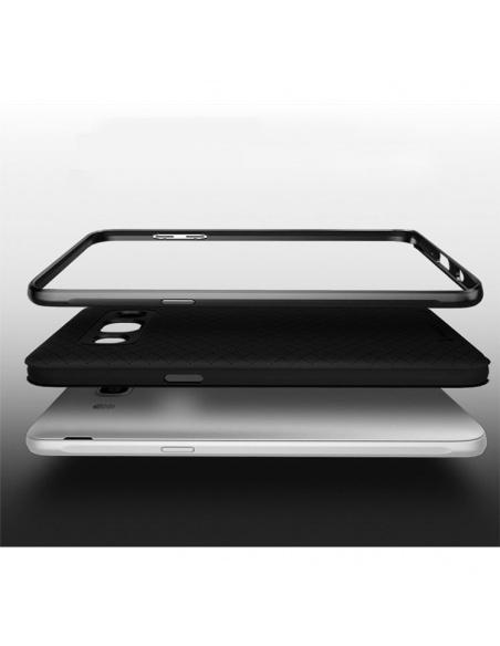 Etui iPaky Premium Hybrid Samsung Galaxy J7 2016 Grey + Szkło