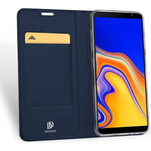 Etui DuxDucis SkinPro Samsung Galaxy J4 Plus Blue + Szkło