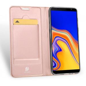 Etui DuxDucis SkinPro Samsung Galaxy J4 Plus Rose Gold + Szkło