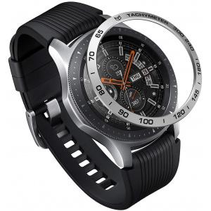 Nakładka na tachymetr Ringke Samsung Galaxy Gear S3/Watch 46mm Aluminium Silver