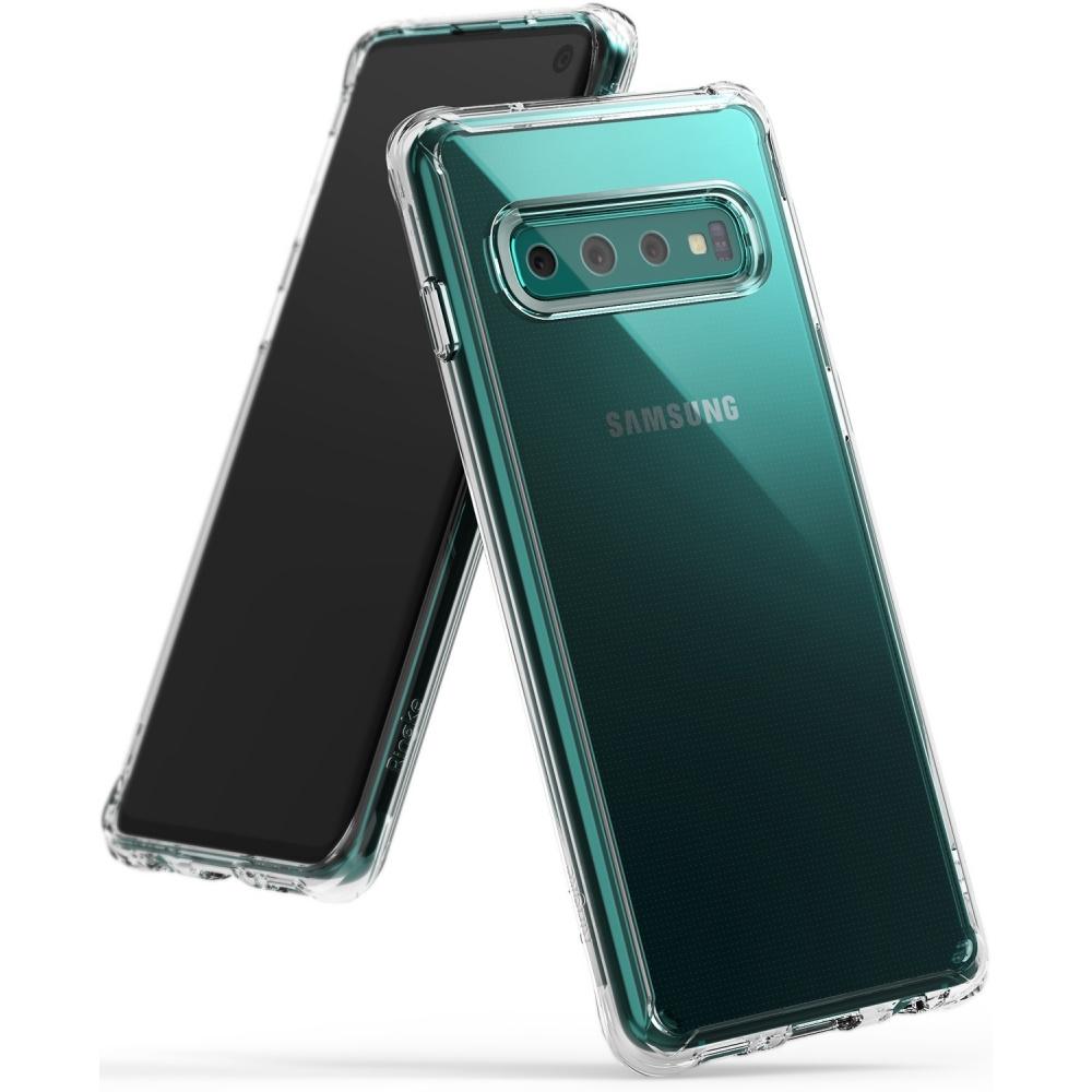 Etui dla Samsunga Galaxy S10 Ringke Fusion Clear