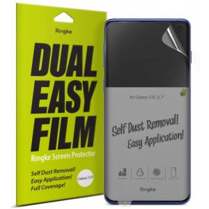 Folia Ringke Dual Easy Full Cover Samsung Galaxy S10 Case Friendly