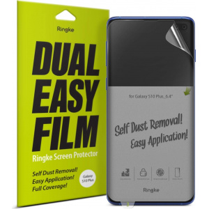Folia Ringke Dual Easy Full Cover Samsung Galaxy S10 Plus Case Friendly
