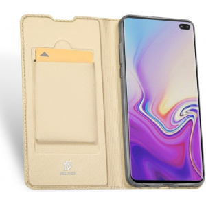 Etui Samsung Galaxy S10 Plus - DuxDucis SkinPro Gold