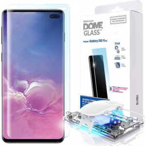 Szkło hartowane z klejem UV Whitestone Dome Glass Samsung Galaxy S10 Plus
