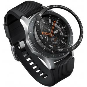 Nakładka na tachymetr Ringke Samsung Galaxy Gear S3/Watch 46mm aluminium czarna GW-46-07
