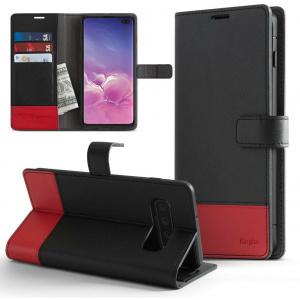 Etui Ringke Wallet Samsung Galaxy S10 Plus Black & Red