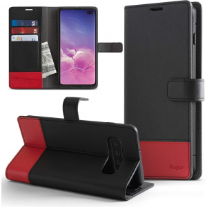 Ringke Wallet Samsung Galaxy S10 Plus Black & Red