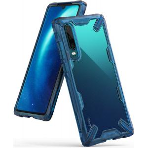 Etui Ringke Fusion-X Huawei P30 Space Blue