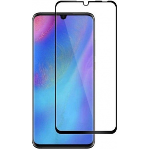 Szkło hartowane Home Screen Glass Huawei P30 Full Cover Black
