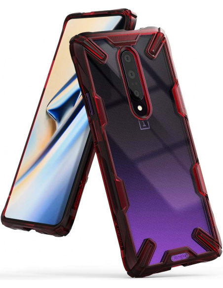 Etui Ringke Fusion-X OnePlus 7 Pro Ruby Red