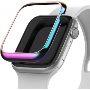 Nakładka Ringke Bezel Styling Apple Watch 4 44mm stal nierdzewna Neon Chrome AW4-44-08