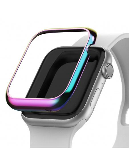 Nakładka Ringke Bezel Styling Apple Watch 4 44mm stal nierdzewna Neon Chrome AW4-44-08
