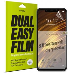 Folia Ringke Dual Easy Full Cover Pocophone F1 Case Friendly
