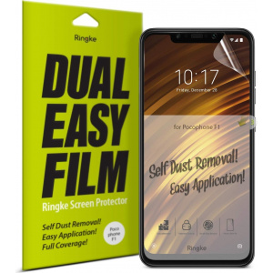 Ringke Dual Easy Full Cover Pocophone F1 Case Friendly