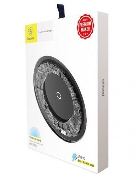 Ładowarka indukcyjna Baseus Simple Wireless Charger 10W Clear