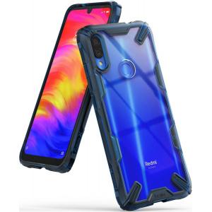 Etui Ringke Fusion-X Redmi Note 7 Space Blue