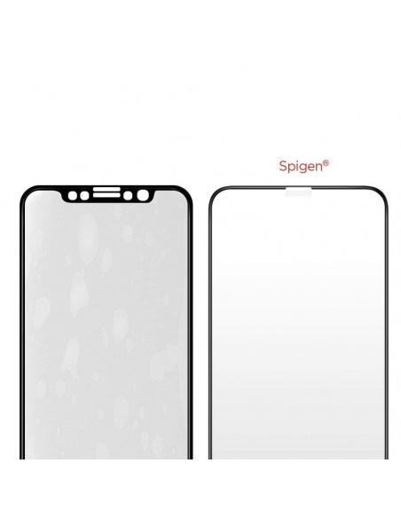 Szkło hartowane Spigen GLAS.tR TC 3D Full Cover Case Friendly iPhone 11 Pro/iPhone XS