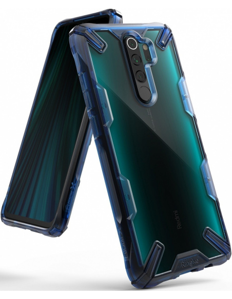 Etui Ringke Fusion-X Redmi Note 8 Pro Space Blue