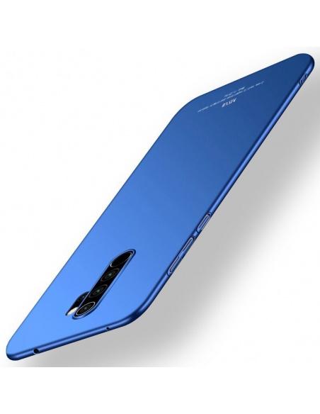 Etui MSVII Redmi Note 8 Pro Blue + Szkło