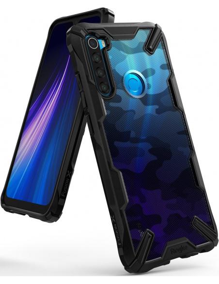 Etui Ringke Fusion-X Design Redmi Note 8 Camo (Moro) Black