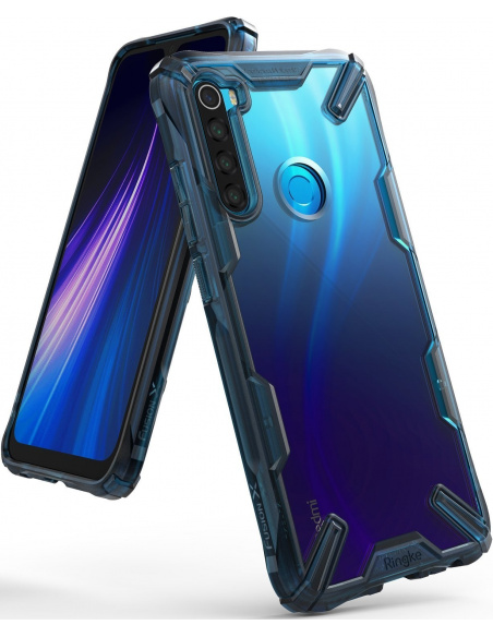 Etui Ringke Fusion-X Redmi Note 8 Space Blue