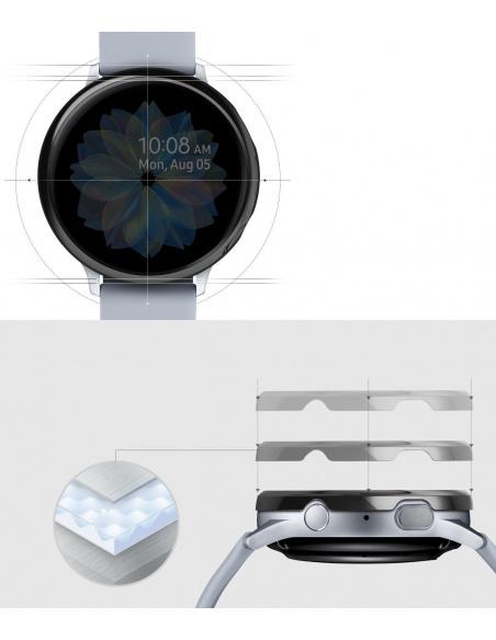 Nakładka Ringke Bezel Styling Samsung Galaxy Watch Active 2 44mm stal nierdzewna czarna połysk GWA2-44-03