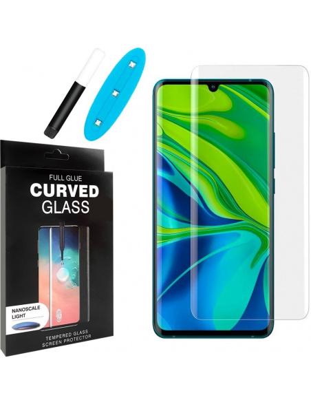 Szkło hartowane z klejem UV Home Screen UV Glue Glass 3D Xiaomi Mi Note 10/Pro