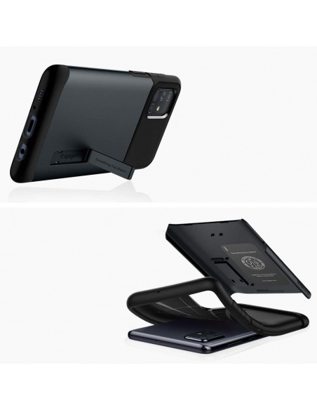 Etui Spigen Slim Armor Samsung Galaxy A51 Metal Slate