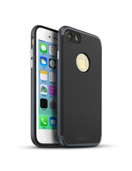 Etui iPaky Premium Hybrid iPhone 8/7 Gray + Szkło