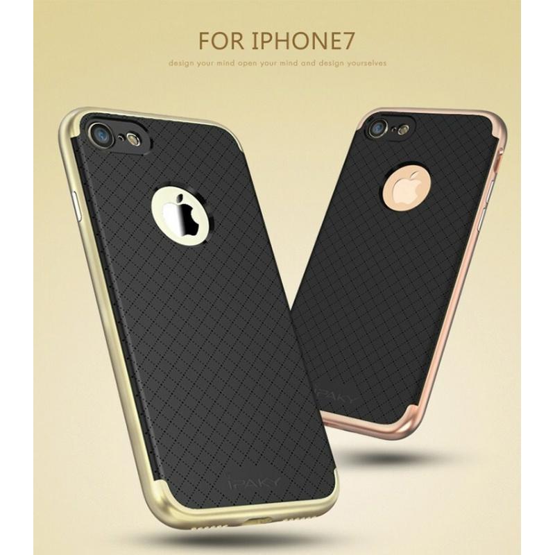 iPaky Premium Hybrid iPhone 7 Rose Gold