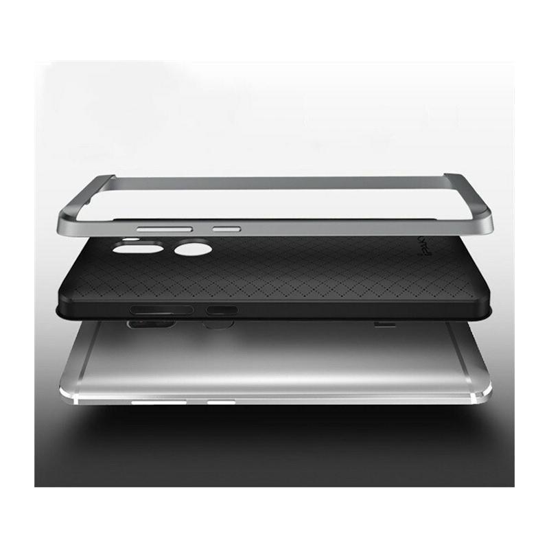 Etui iPaky Premium Hybrid Xiaomi Mi5s Grey + Szkło