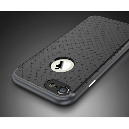 iPaky Premium Hybrid iPhone 7 Plus Grey