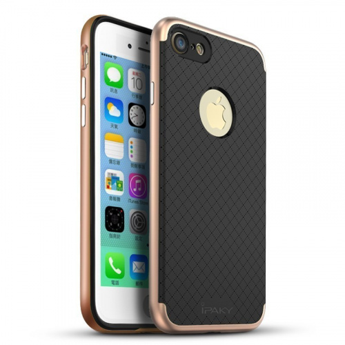 Etui iPaky Premium Hybrid iPhone 7 Plus Rose Gold