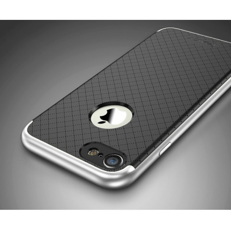 iPaky Premium Hybrid iPhone 7 Plus Silver