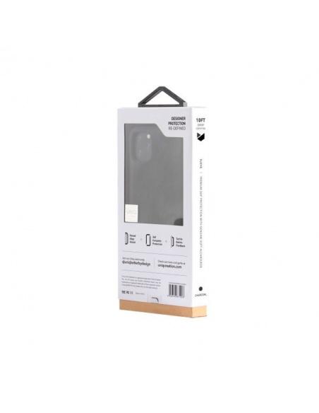 UNIQ etui Sueve iPhone 11 Pro Max czarny/charcoal black