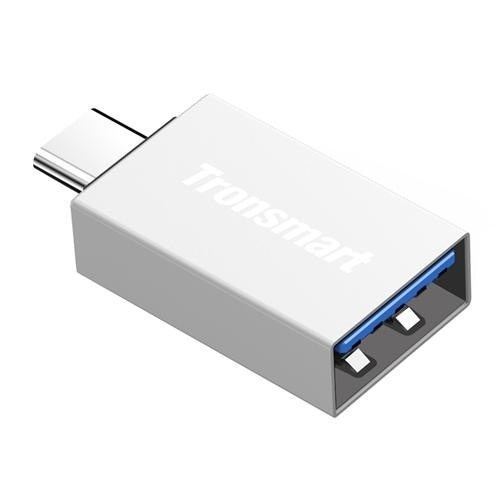 Adapter Tronsmart CTAF OTG USB-C do USB-A 3.0 Silver
