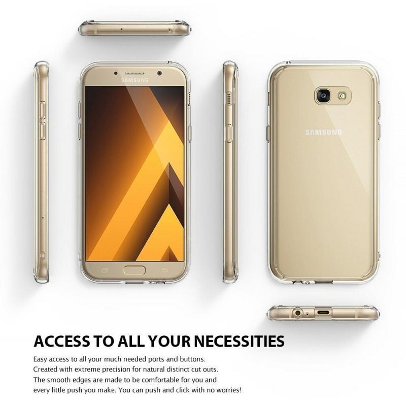 Ringke Fusion Samsung Galaxy A5 2017 Rose Gold Crystal