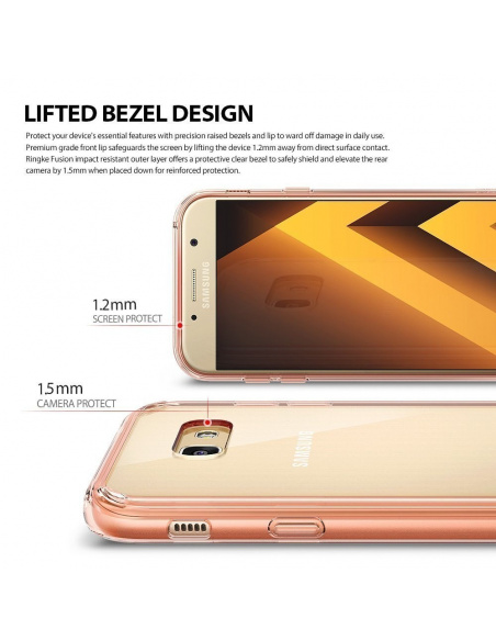 Ringke Fusion Samsung Galaxy A5 2017 Rose Gold Crystal