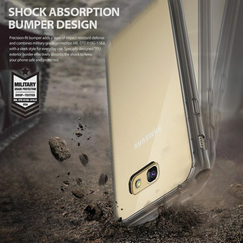 Ringke Fusion Samsung Galaxy A5 2017 Smoke Black