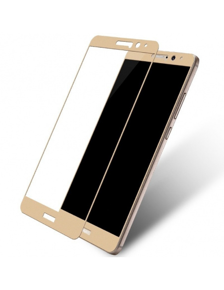 Szkło hartowane Home Screen Glass Huawei Mate 9 Full Cover Gold