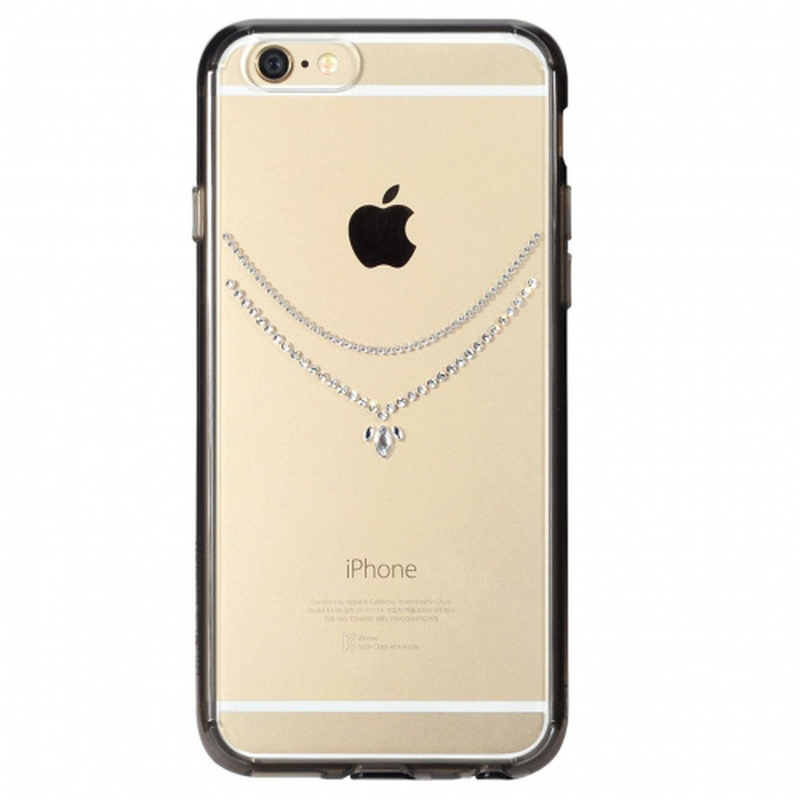 Etui Ringke Noble Crystal Snow Apple iPhone 6/6s 4.7 Smoke Black
