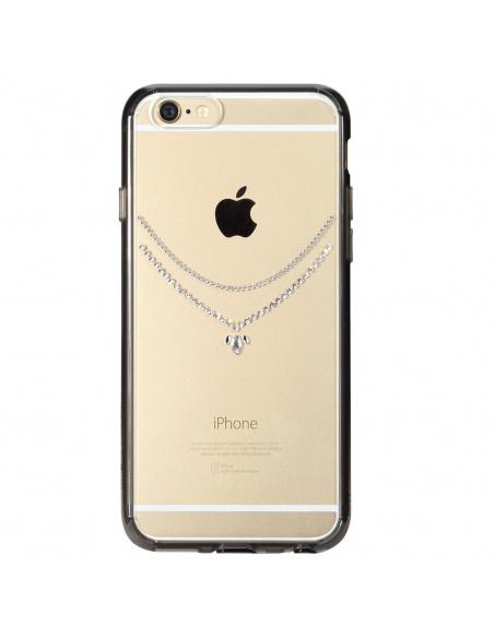 Etui Ringke Noble Crystal Necklace Apple iPhone 6/6s 4.7 Smoke Black