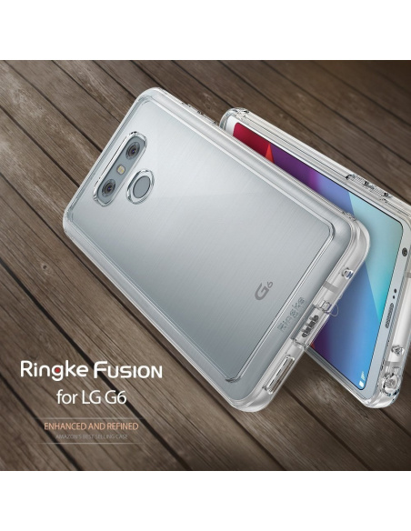 Etui Ringke Fusion LG G6 Crystal View