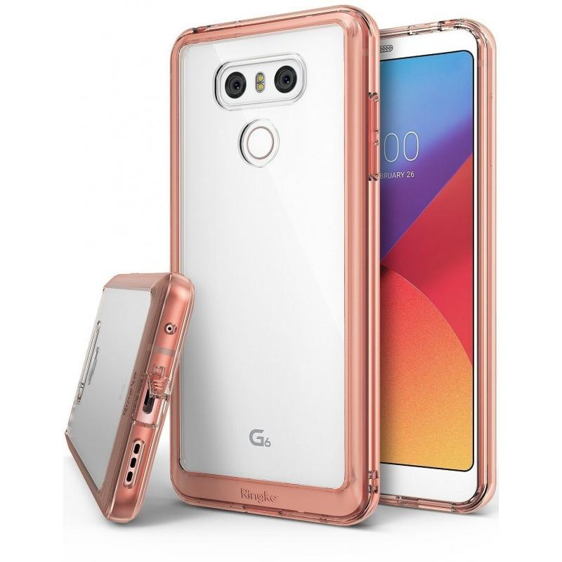 Etui Ringke Fusion LG G6 Crystal View